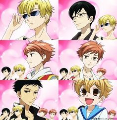 Ouran High School Host Club <3 - I want these guys as my big brothers :) (cause I'm married, and I don't have brothers :) )