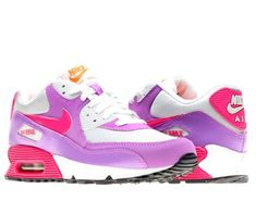 a13b7c06c2f Nike Air Max 90 2007 GS Girls Running Shoes 345017016 Pure Platinum 65 M US      Details can be found by clicking on the image. (This is an affiliate  link) 0