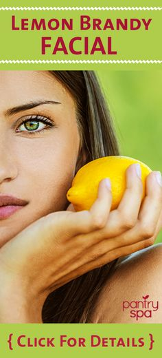 The acidity of a lemon when combined with the lactic acid found in milk and the alcohol found in brandy work wonders as a face mask – hence Dr Oz's Lemon Brandy Fask Mask Recipe, which exfoliates your skin, brightens your face, reduces wrinkles and is like a natural form of a chemical peel.