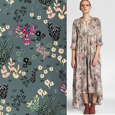 Another great piece of fashion just came out. With one of my patterns. This beauty is from Southern Cotton.  Great clothes. #southerncotton #patterns #design #elcorteingles #watercolors #copic #fashion