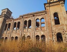 Lost synagogue of Vidin, Bulgaria. Built in Seized by the communist government in the wake of WWII, the synagogue was subsequently appropriated by the state. Restoration was begun but ended with the collapse of the Communist regime. Jewish Temple, Central And Eastern Europe, Sofia Bulgaria, Ottoman Empire, Barcelona Cathedral, Abandoned, Around The Worlds, History, Architecture