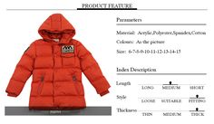 Awesome Boy Winter Coat Jacket Children Winter Jackets For Boys Casual Hooded Warm Coat Baby Clothing Outwear Fashion Boys Parka Jacket - $33.6 - Buy it Now!