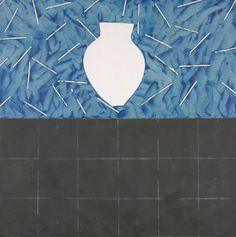 White vase | Denise GREEN | NGV