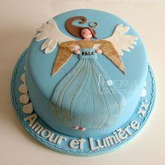 Angel Christmas cake - La Forge à Gâteaux