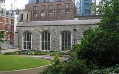 The Queen's Chapel of the Savoy, off the Strand in London. It was part of a hospital for the poor, founded by Henry VIII in 1512.