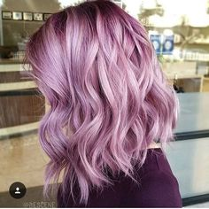 So obsessed with this blush @bescene ! Who else is in love ? #bescene #obsessed #inlove #whowants #hair #hairdo #styling #fashioncolour #violet #blush @redefined_hair_studio