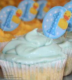 Fiesta primer cumpleaños. Patito de goma. Rubber duck 1st birthday party.