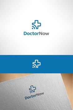 Logo design for a telemedicine service that connects nursing home patients in rural facilities to physicians and specialists anywhere, using an online platform