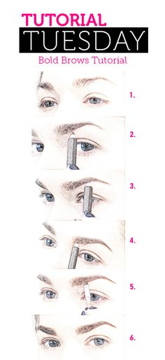 Tutorial Tuesday – Bold Brows Tutorial | The Beauty Place Blog