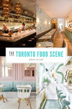 Toronto Food Scene - A Culinary Hotspot - Champagne Darling Toronto Food Scene - where to eat! Best Places To Eat, Oh The Places You'll Go, Places To Visit, Toronto Travel, Toronto Vacation, Trip To Toronto, Visit Toronto, Ontario Travel, Toronto Photography