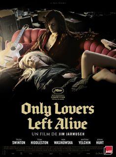 Only Lovers Left Alive est un film de Jim Jarmusch avec Tom Hiddleston, Tilda Swinton. Synopsis : Dans les villes romantiques et désolées que sont Détroit et Tanger, Adam, un musicien underground, profondément déprim