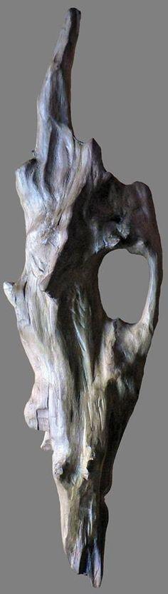 Le Pêcheur de Bois, Yann Viau, dignité, sculpture naturelle, Loire, la Meilleraie, driftwood, schwemmholz, cire, wax,