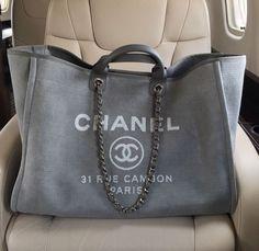 e70430a0e33ea8 Authentic Designer Handbags As A Gift. Chanel Canvas BagChanel Tote  BagChanel Beach ...