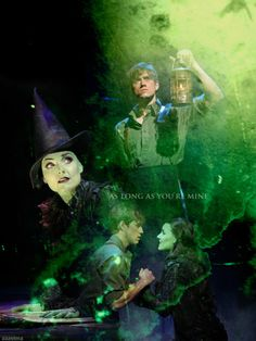 Aaron Tveit & Kerry Ellis as Fiyero and Elphaba   Wicked As Long As You're Mine