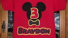mice, birthday parties, birthdays, birthday idea, clubhouses, mickey mouse clubhouse, disney birthday, shirt, red black