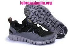 Men's Running Shoes Nike Free Harache Light Black Anthracite 555440 030 [Lebron X Denim 223]