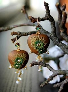 Keishi Pearl cascade earrings in gold fill and by Peelirohini - Peeli's work is perfection.  I can't IMAGINE the amount of time it takes and precision to make a perfectly matches set.  WOW!