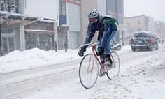 Winter Bicycling - says  simpler is better - likes a single-speed track bike through snowy months.  An alternative are bikes with internal geared hubs, protecting moving parts from the elements.