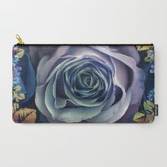 Purple rose. Carry-All Pouch