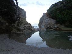 Whiritoa Beach south Summer Catch, Seaside Village, New Zealand, Coast, Waves, Island, Beach, Outdoor, Block Island