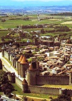 Carcassone, França {cidade medieval}
