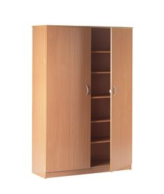 Everyday Heavy Duty Storage Cupboards - Storage | Morleys School Furniture £255 - very handy - have several like these already, but new building will have much more built in storage in classrooms at least.