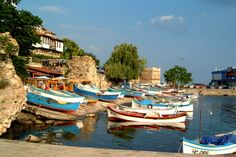 Sozopol, Bulgaria.   An ancient seaside town at the Black Sea. Known for the Apollonia art and film festival, which takes place in early September.