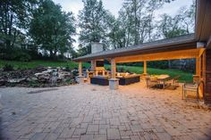 Paver patios can make your back yard look spacious