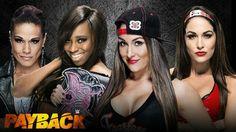 Naomi & Tamina Snuka Vs Brie & Nikki Bella