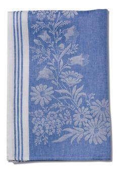 Floral Kitchen Towel - Volga Linen