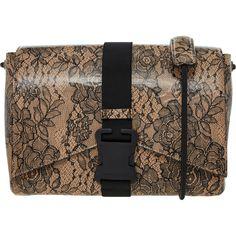 Cream Leather Floral Cross Body Bag - Handbags - Accessories - Women - TK Maxx Handbag Accessories, Women Accessories, Tk Maxx, Cross Body, Crossbody Bag, Monogram, Michael Kors, Handbags, Cream