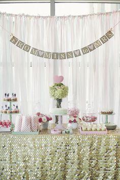 Designing Your Bridal Shower Dessert Table