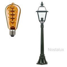 Elkenrade LED Klassieke Buitenverlichting een eye catcher in iedere tuin of bij het bedrijf. Deze tuinlantaarn is geheel uitgevoerd in een hoogwaardige kwaliteit aluminium en voorzien van een dubbellaagse poedercoating. Het armatuur wordt geleverd met E27 fitting. En is dus LED geschikt. Alle K.S. Buitenverlichting is CE gekeurd. Deze tuinlamp heeft 3 jaar fabrieksgarantie.