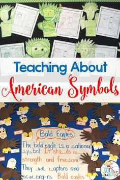 for kids in kindergarten and first grade Teaching about American Symbols in kindergarten. Activities for Statue of Liberty, Bald Eagles, and more!Teaching about American Symbols in kindergarten. Activities for Statue of Liberty, Bald Eagles, and more! Kindergarten Social Studies, Social Studies Activities, History Activities, Teaching Social Studies, Teaching History, Kindergarten Activities, National Symbols Kindergarten, Preschool, History Education
