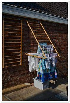 home accessories decor 741264419907308622 - Ik las net een artikel over uitstelgedrag in De Morgen. Net als zovelen heb ik er ongelooflijk veel last van. Maar ik kan wel met enige t… Diy Rack, Diy Shoe Rack, Shoe Racks, Clothes Drying Racks, Diy Clothes Rack, Hanging Clothes, Clothes Dryer, Laundry Room Design, Clothes Line