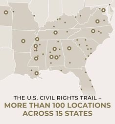 US Civil Rights Trail Rv Travel, Travel Guides, Race In America, Fight For Us, Easy To Love, Trail Maps, Us History, Black History, Interactive Map