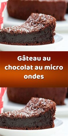 Dessert Micro Onde, Biscuits, Cupcakes, Voici, Brownies, Couture, Pastry Recipe, Dessert Recipes, Easy Cooking