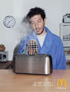 Adeevee - McDonald's: Wake up.  Advertising Agency:TBWA, Paris, France