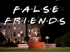 Exercise about  False Friends False friends can create difficulties to learn another language. In this exercise  some multiple choice questions about Italian-English false friends