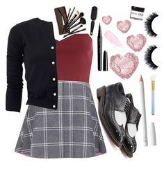 """My speech coach hurt my feelings so I'm going to just keep being beautiful and cold and numb"" by gaaras-leaf on Polyvore featuring Paul & Joe Sister, River Island, Boutique Moschino, Robert Clergerie, MAC Cosmetics, Marc Jacobs, Borghese, Fig+Yarrow, women's clothing and women's fashion"