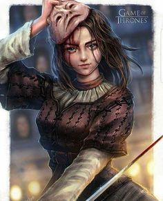 The Faceless Girl of Braavos. Game of Thrones. ASOIAF