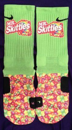 mrs skittles nike socks