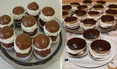 Fantastické čokoládové jednohubky plněné šlehačkovým krémem: Ideální dezert na každou příležitost!