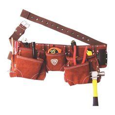 Diseñado para cargar una amplia variedad de herramientas. Incluye múltiples paquetes para herramientas pequeñas. Cinturón de polipropileno. Esquinas reforzadas. Fabricado en carnaza de alta calidad y resistencia. 11 paquetes. Medida: Largo 24 cm. Ancho 57 cm. Profundidad 18 cm. Espesor 7 cm. Material carnaza. Color café. Peso 1.01 kg. Garantía proveedor 1 año. Modelo 1DMX-490.