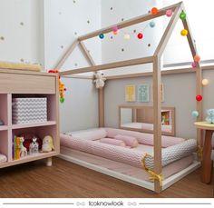 Quarto Montessoriano #decoração #decor #inspiração #dica #ideia #quarto #montessoriano #looknowlook