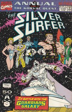 Silver Surfer  Annual # 4 Marvel Comics Vol 3 ( 1991 )