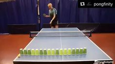 Awesome Ping Pong trick shot http://ift.tt/2azXQXk Love #sport follow #sports on @cutephonecases