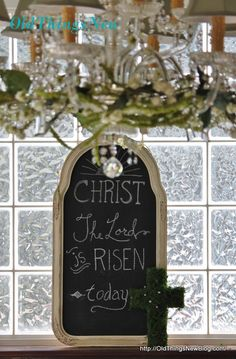 Easter Blessings - Old Things New He Has Risen, Scripture Pictures, Easter Ideas, Blessings, Art Quotes, Old Things, Blessed, Spring