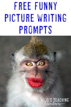 Click through to find great picture writing prompts for FREE! See how you can find funny pictures for in your or grade classroom or homeschool students. These prompts also work great for special education students 5th Grade Writing Prompts, Writing Prompts For Kids, Picture Writing Prompts, Writing Lessons, Teaching Writing, Writing Activities, Dialogue Writing, Kids Writing, Teaching Strategies