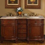 FREE SHIPPING! Shop Wayfair for Legion Furniture Hatherleigh 61 Double Chest Bathroom Vanity Set - Great Deals on all Home Improvement products with the best selection to choose from!